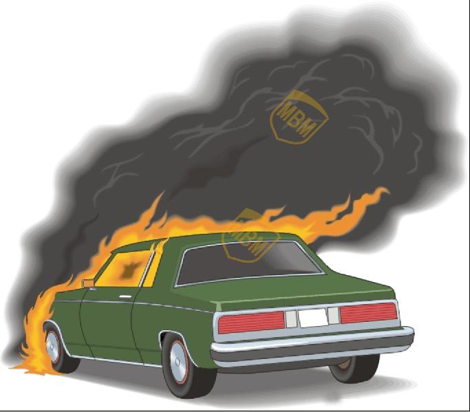 汽车起火后应如何处置